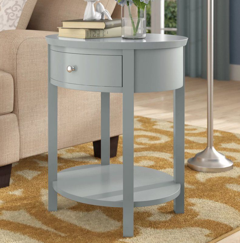 Canterbury End Table With Storage End Tables Round End Tables