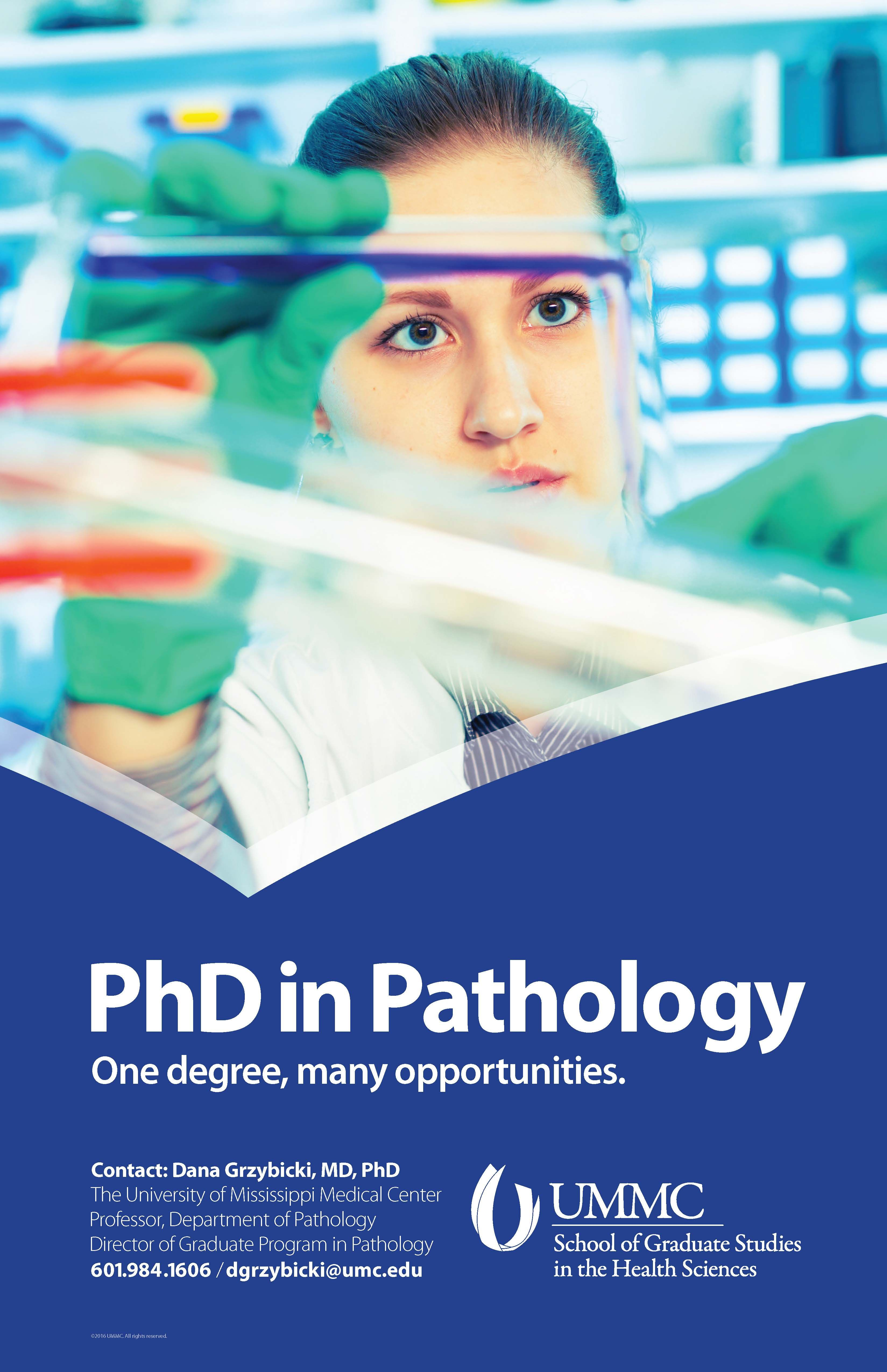 UMMC PhD in Pathology Poster (Nov. 2016) (With images