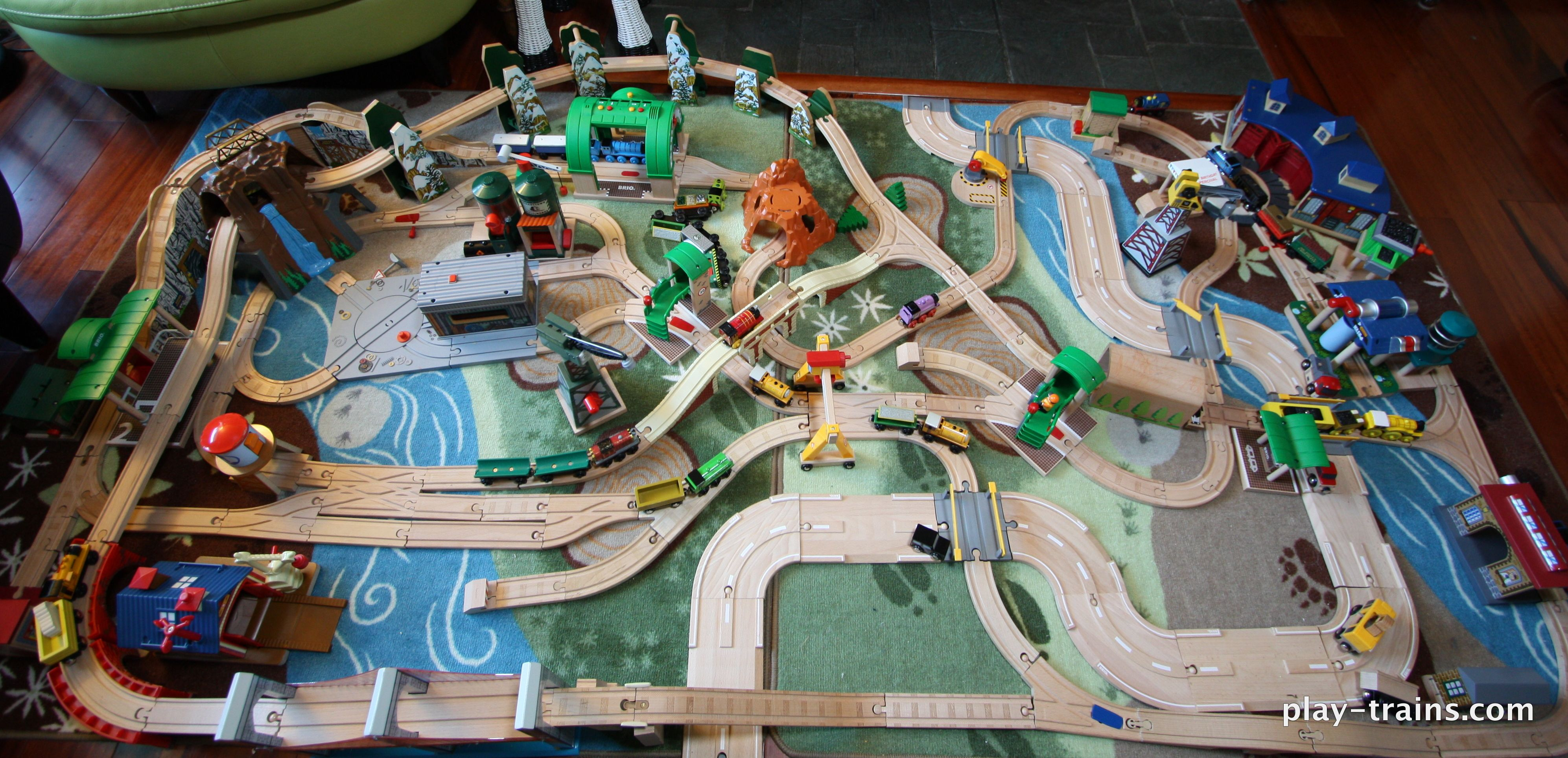 Our Latest Wooden Train Layout Inventive Toys Wooden