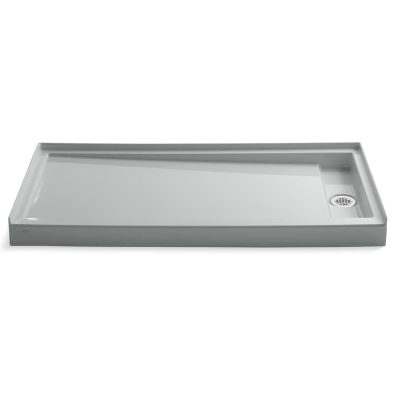 Kohler K 9948 Groove 60 X 32 Shower Pan With Right Drain Ice