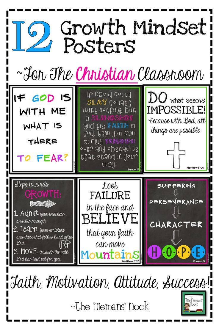 Photo of Christian Classroom Decor: Bible Verse Posters