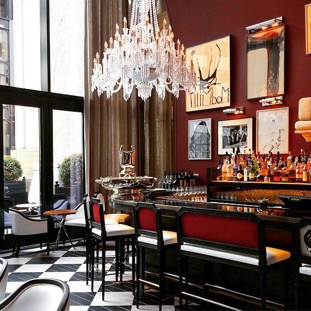 Glamorous Living Baccarat Hotel Nyc