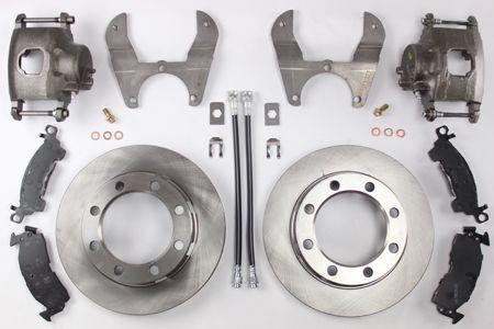 14 Bolt Disc Brake Conversion Kit Srw W C C Hubs Axle Ford