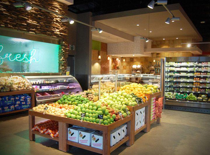 Moneni Spar Store By Design Shop Manzini Swaziland Fruit And Veg Supermarket Design Supermarket Shop Design