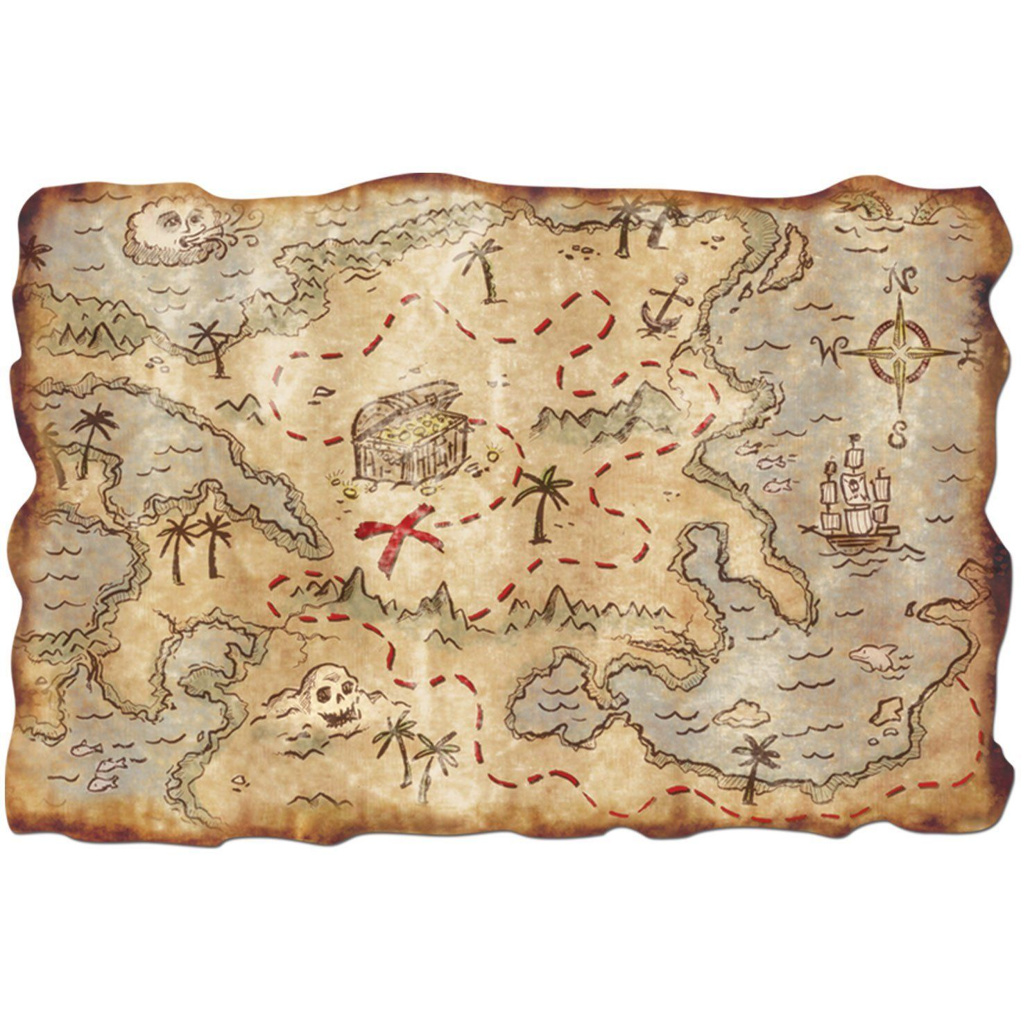 simple treasure maps vintage - photo #20