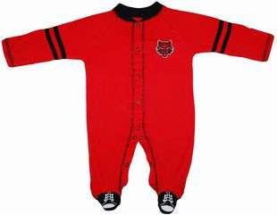 University of Louisville Cardinals Sports Shoe Footed Romper