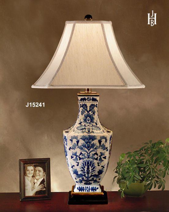 Asian Table Lamps Jb Hirsch Asian Dynasty Quad Vase Porcelain Table Lamp Ivory  For