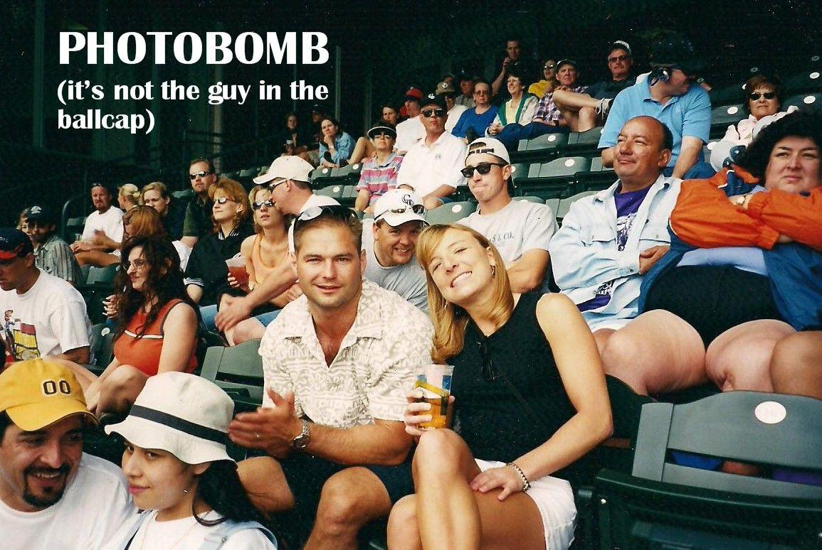 Taken almost ten years ago, before photobombing was popular