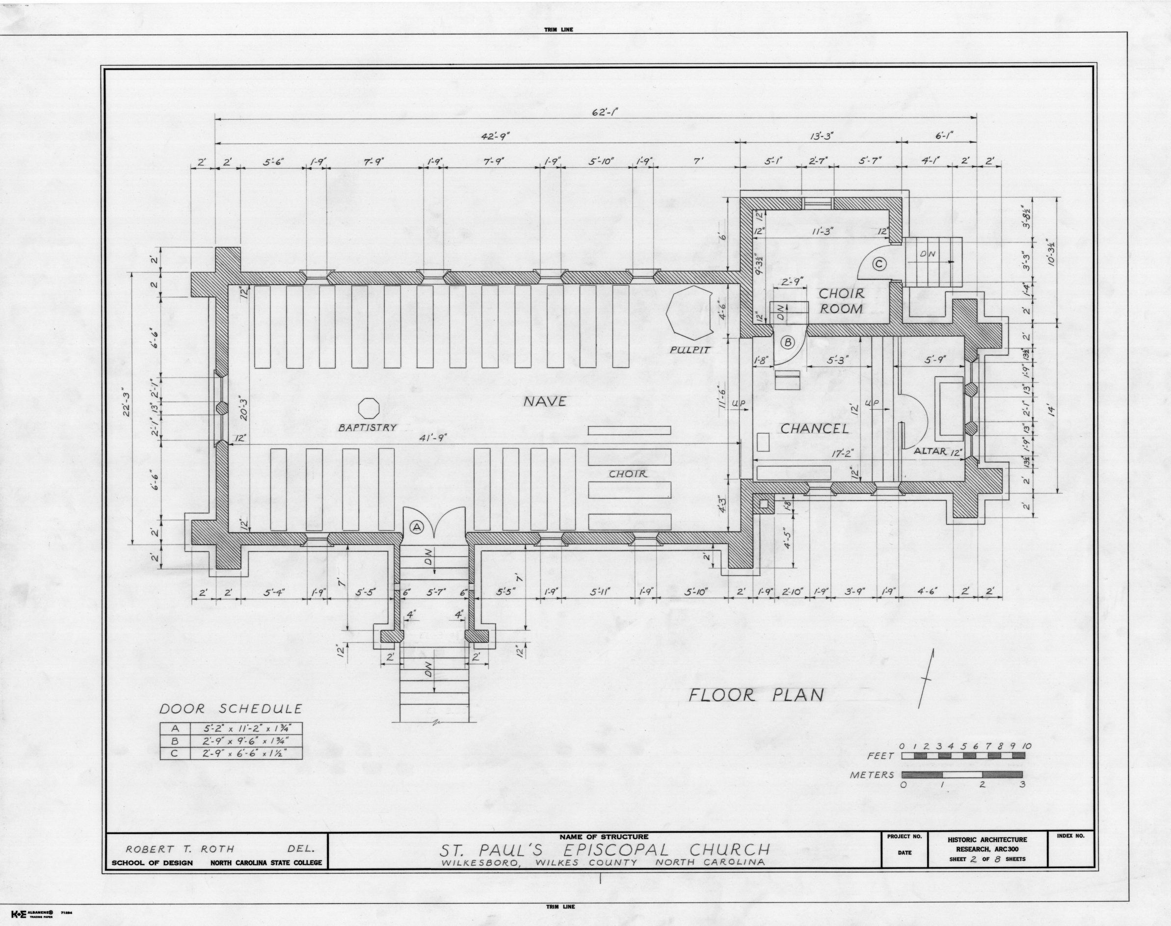 Reformed episcopal church plan google search st for Floor plan church