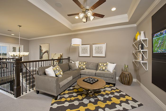 Perry Homes - The Woodlands - Creekside Park Model Townhome Design ...