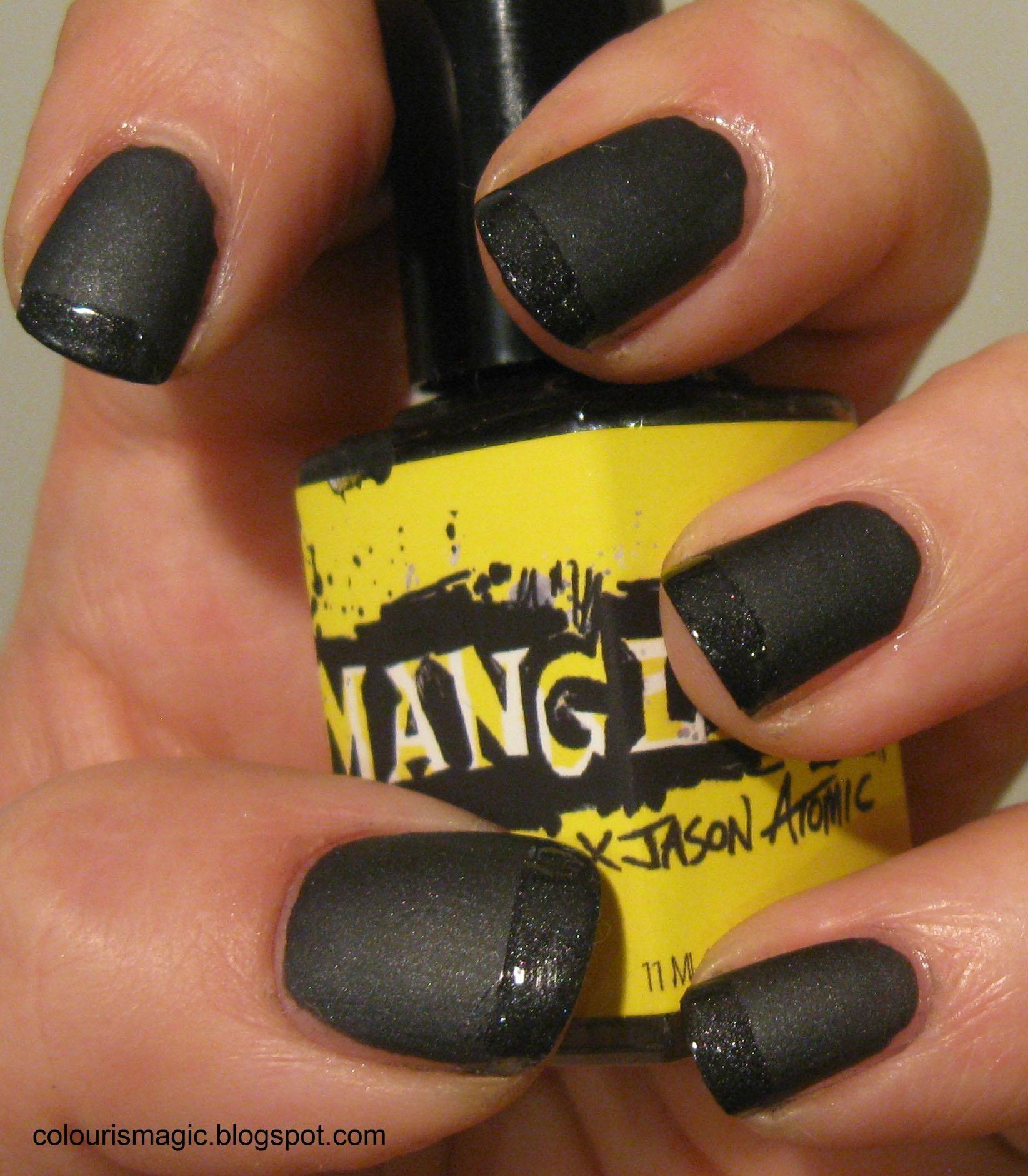 ManGlaze #Matte is Murder | Manicure, Manicure nail designs and ...