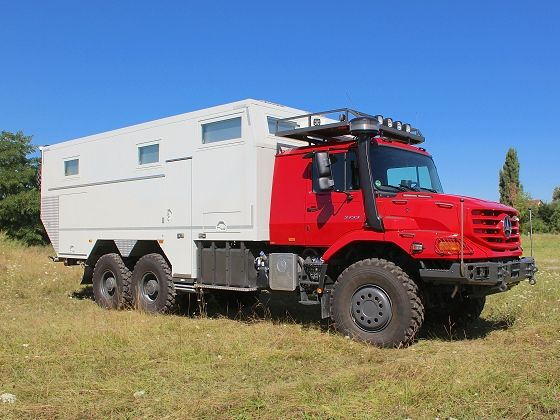 See more pictures of MD71hv / MB Zetros 2733 6x6