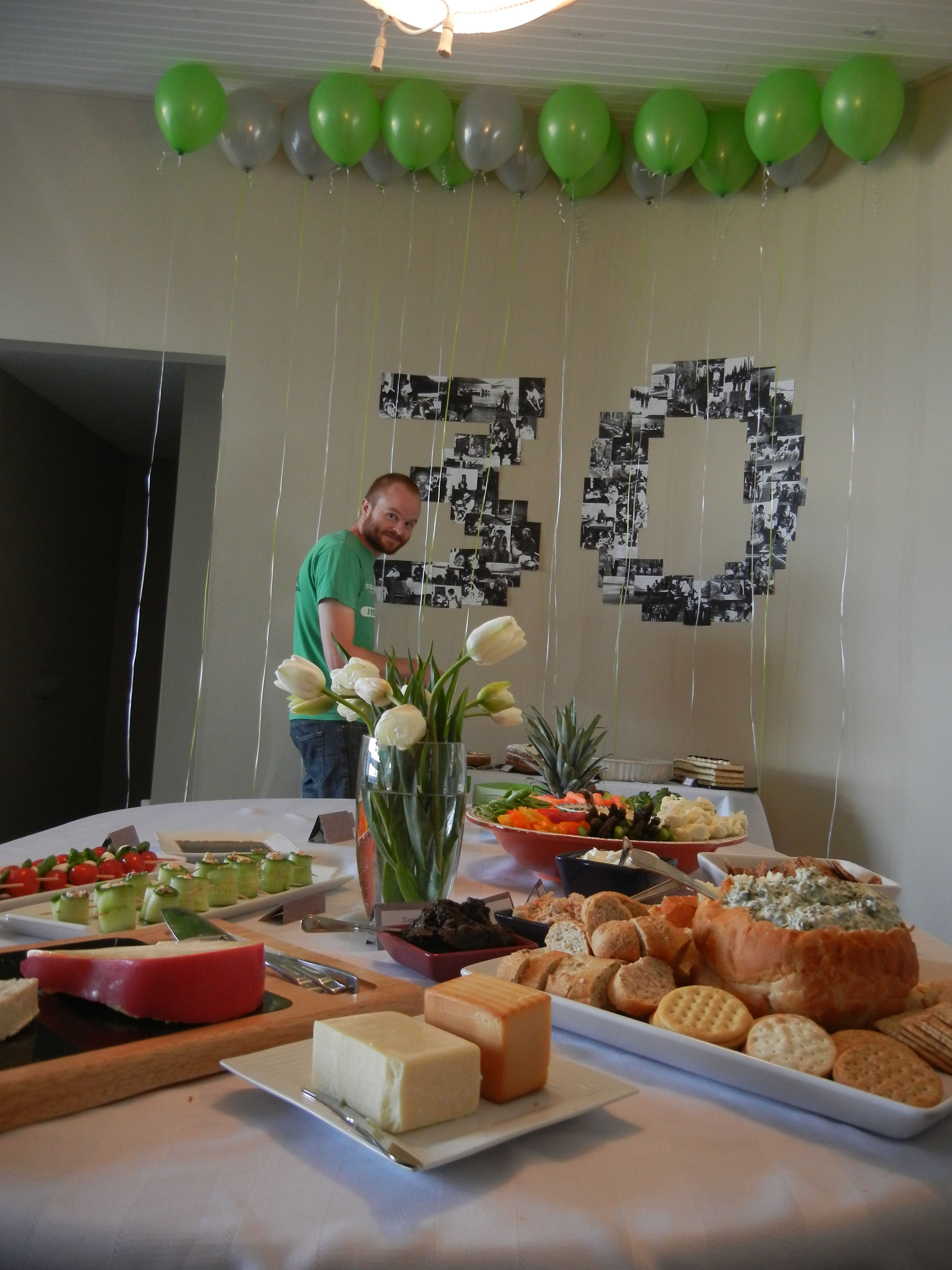For my parent's 30th Anniversary party we created this