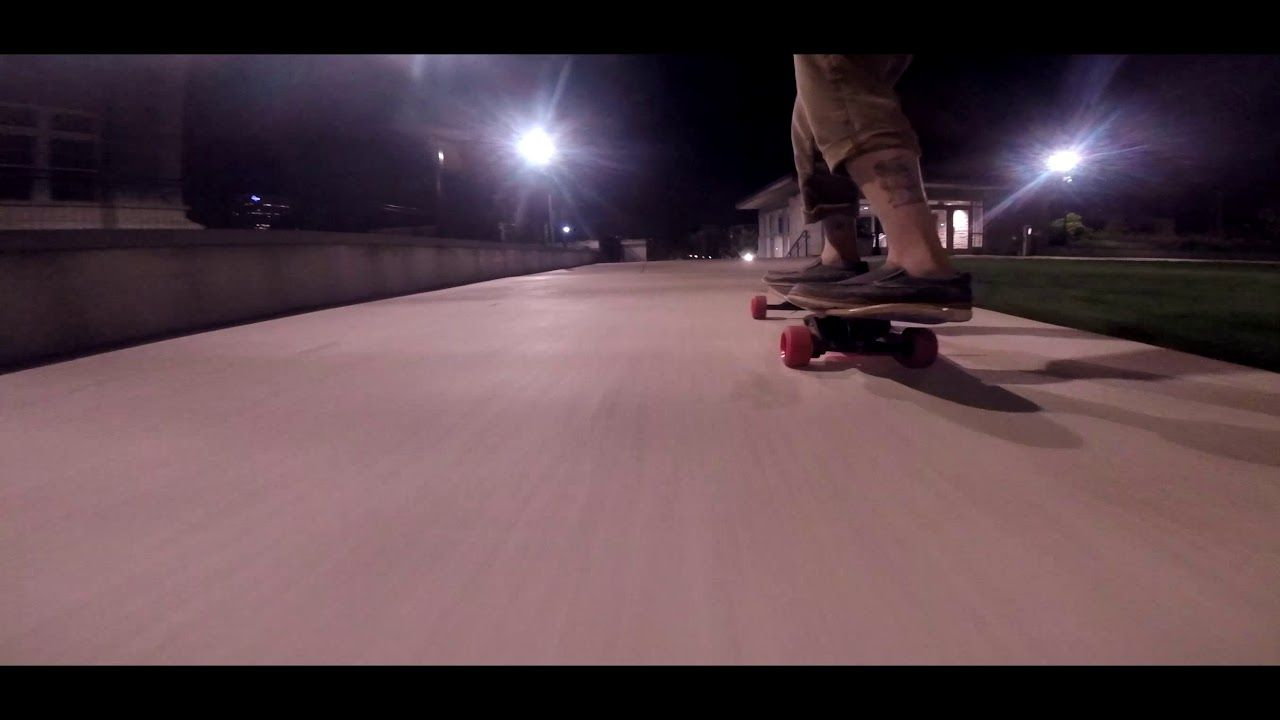 High speed laps on diy electric skateboard with images