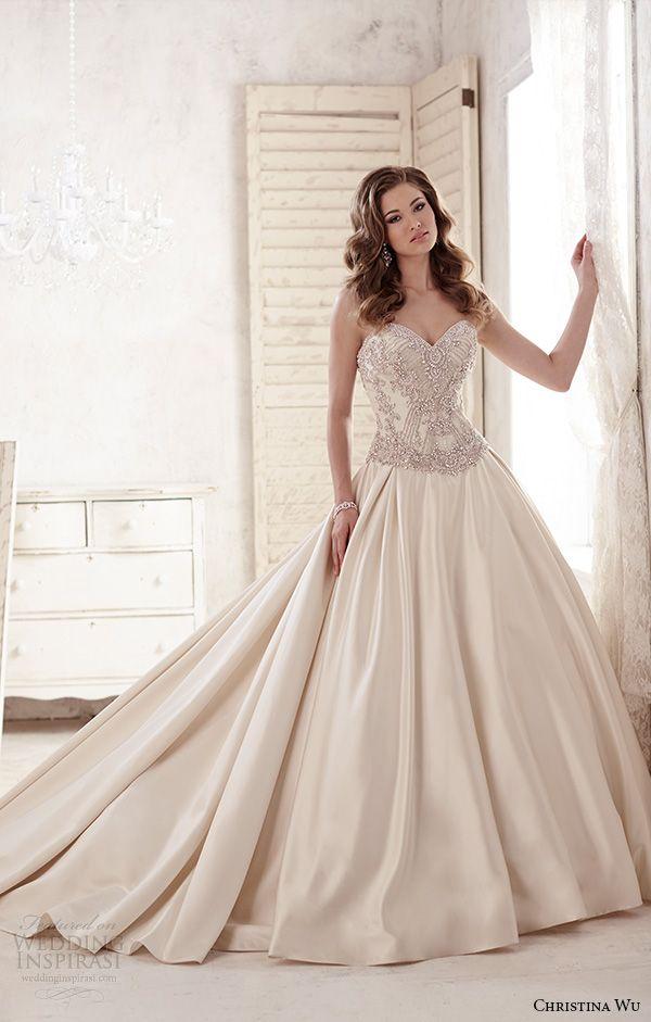 Christina Wu 2015 Wedding Dresses | Wedding, Ball gown dresses and ...