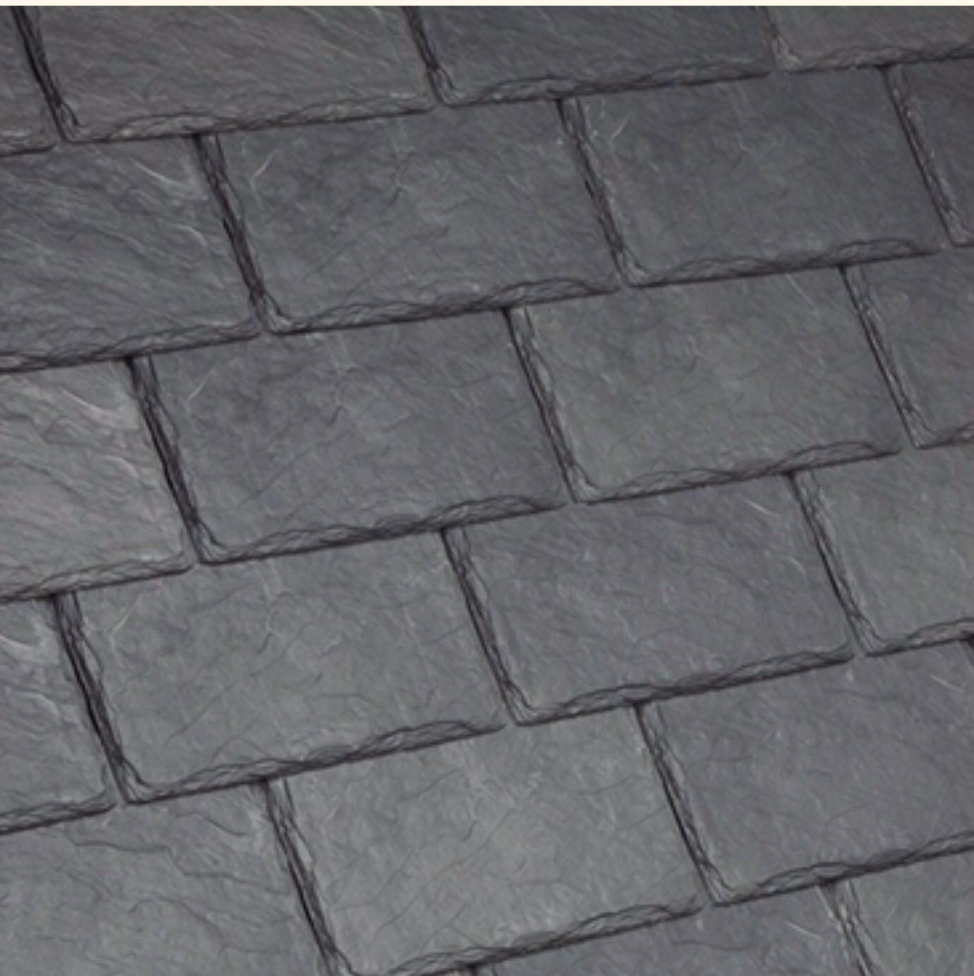 Best Synthetic Slate Roof Shingles By Davinci Here In Slate 400 x 300