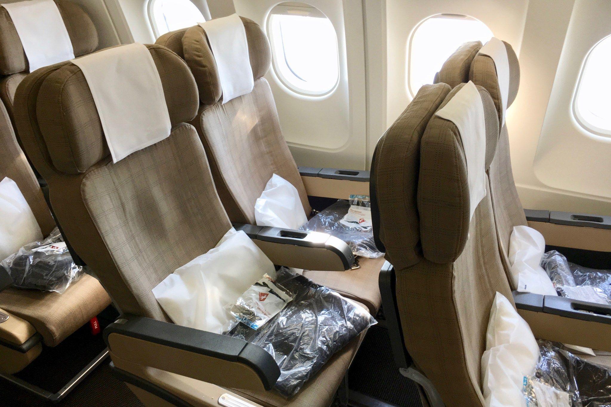 Flight review swiss a340300 economy zurich to boston