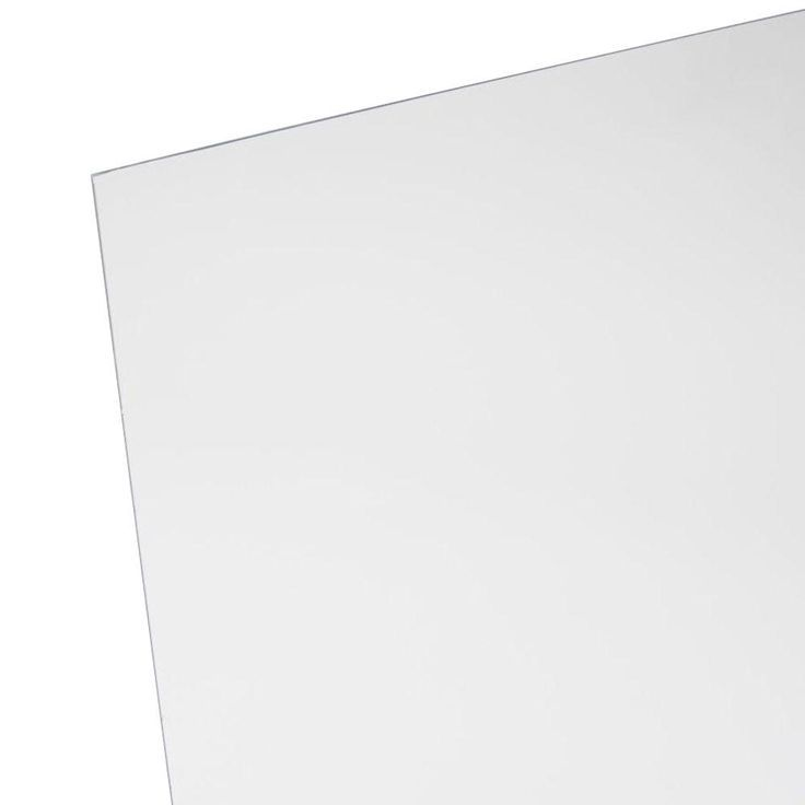 Sabic Polymershapes 48 In X 96 In X 1 8 In Acrylic Sheet Clear Acrylic Sheet Acrylic Sheets Acrylic Sign