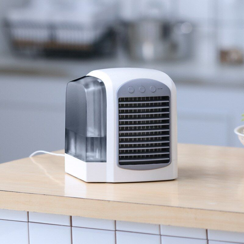 Wxb European Style Mini Air Conditioner Cooling Fan 3 Files Air Conditioning Portable Desk Fans Air Coo Portable Air Conditioning Air Conditioning Units Cooler