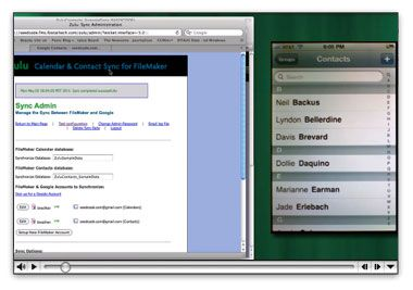 Sync Filemaker Contacts To Your Iphone With Zulu S Sync For Google