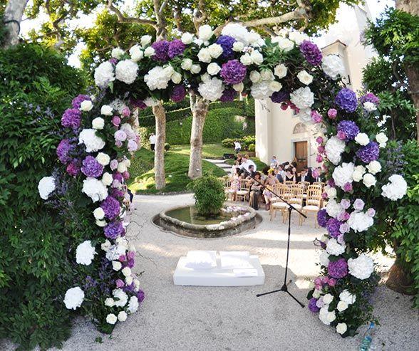 Purple Wedding Arch Decoration Ideas: Wedding Arches For Outdoor Weddings