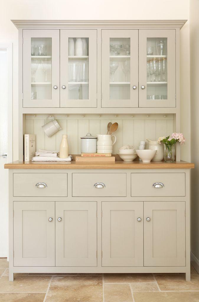 A Lovely Glazed Dresser From DeVOLs Real Shaker Range In KitchenDining Room