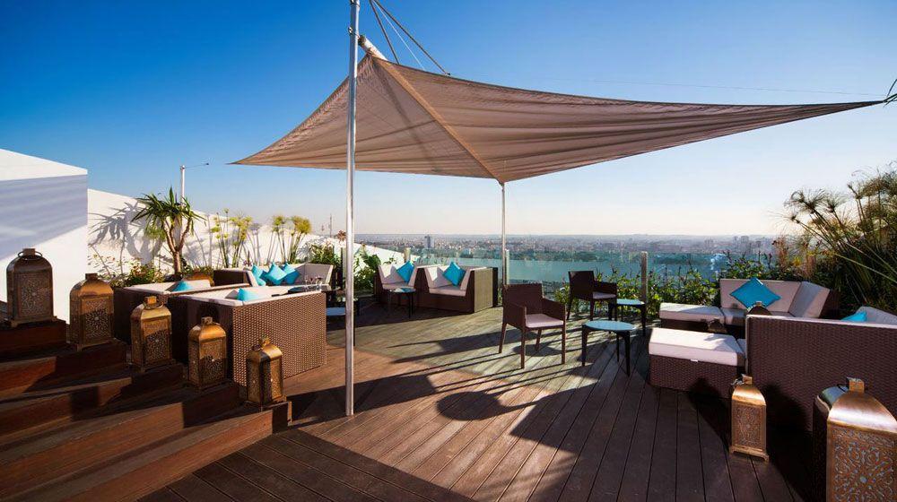 Cocon moderne au design spectaculaire Maroc Pinterest - modernes design spa hotel