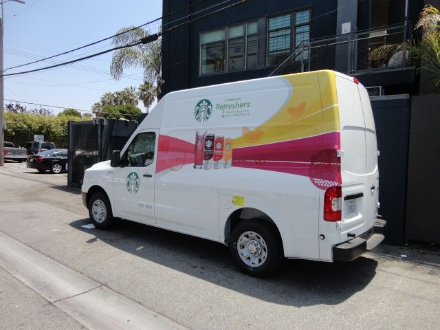 Fleet Wraps For Starbucks Tour We Can Manage All Your