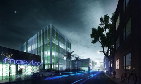the office by Adi R Indra G, via Behance
