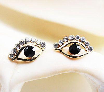 Fashion Western style  lovely eyes Stud earrings Christmas gift EA166
