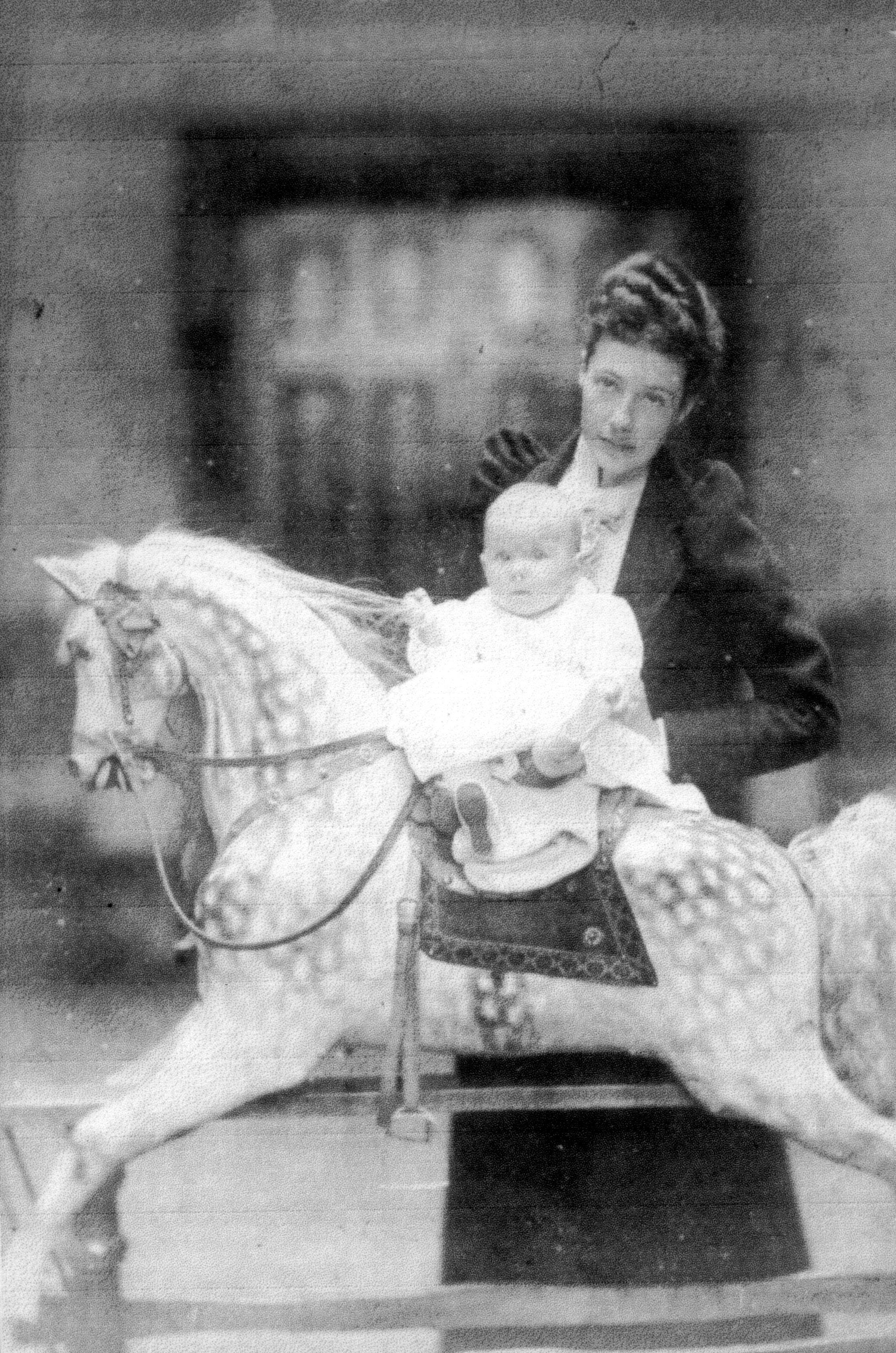 Geraldine Gilbert Henry, daughter of Margaret and Mitchell
