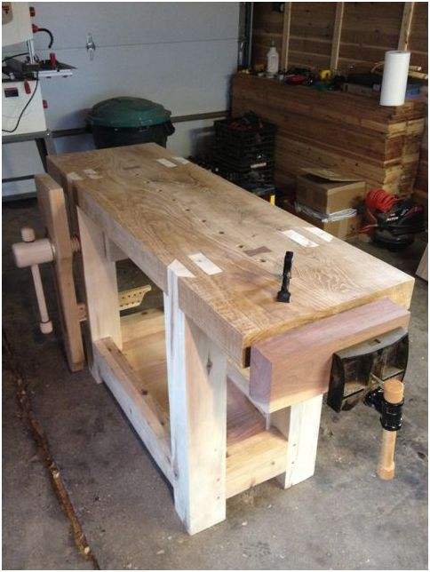 Anyone Can Build Their Own Woodworking Bench Anyone Can Build Their Own Woodworking Bench Woodworking woodworking bench