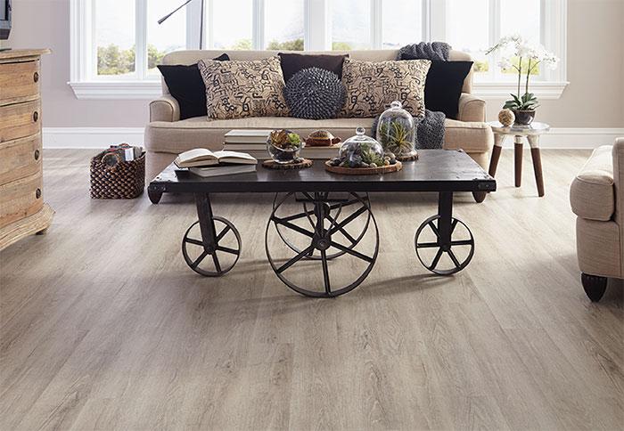 Vinyl Wood-look Flooring Ideas | Living room vinyl, Vinyl ...