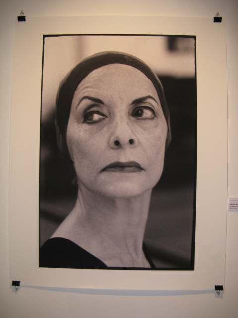 portrait of Alicia Alonso, a great Cuban ballerina.    bakirita.blogs.com