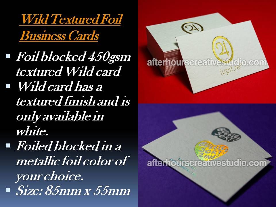 www.afterhourscreativestudio.com/wild-textured-foil-business-cards ...