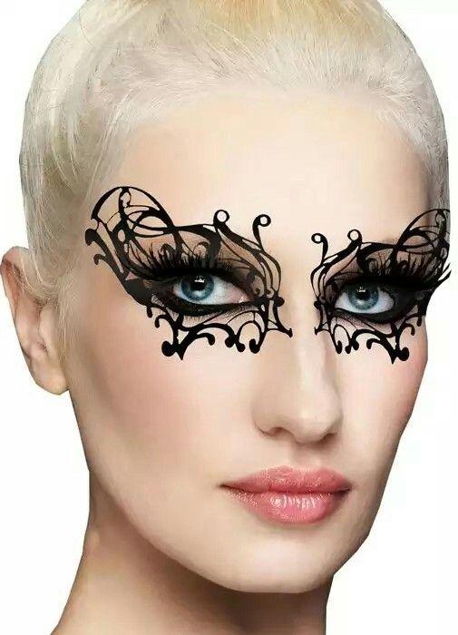 Pin By Kristy Loesch On Creative Mask Makeup Pinterest Mask Makeup