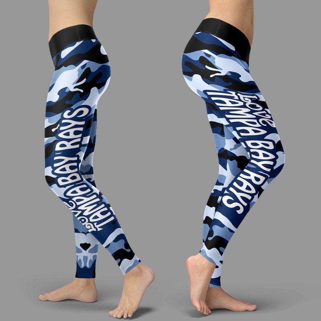 d582f291 Camo Sporty Trending Fashion Fabulous Tampa Bay Rays Leggings ...