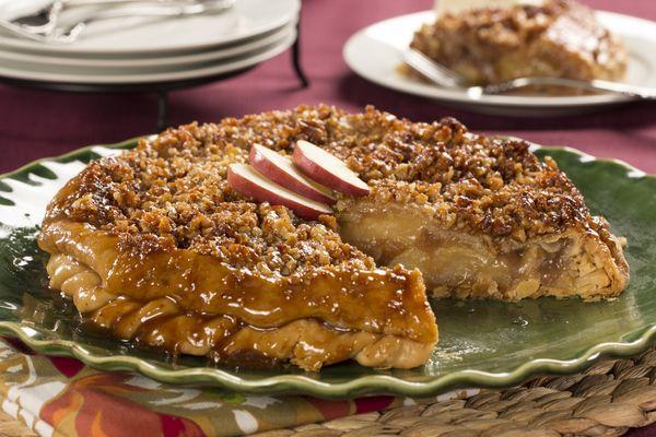 Upside Down Apple Pie Recipe Apple recipes easy, Apple