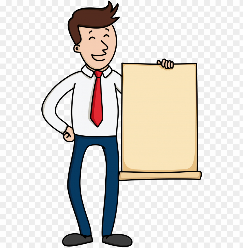 Open Cartoon Man Holding Paper Png Image With Transparent Background Png Free Png Images Cartoon Man Free Png Islamic Wallpaper Hd