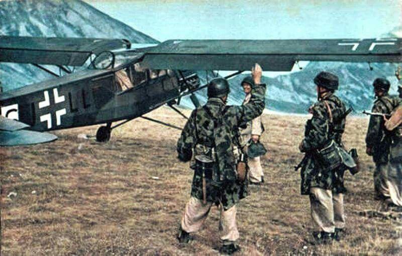 Campo Imperatore. Unternhemen Eiche 1943