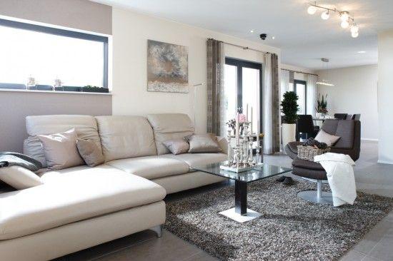 fertighausnet - Wohnideen - Wohnzimmer VIO 400 Zukünftige - wohnideen wohnzimmer gelb