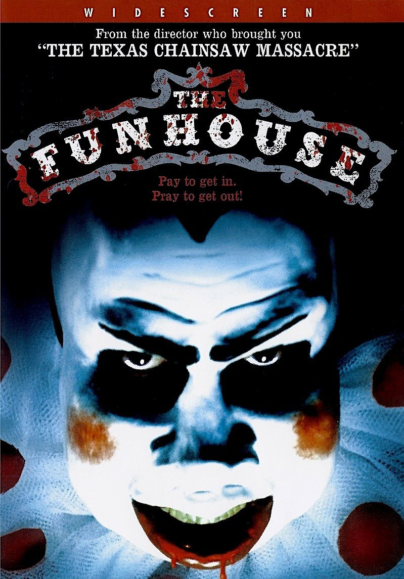 THE FUNHOUSE DVD | I ♡ horror | Best horror movies, Movies