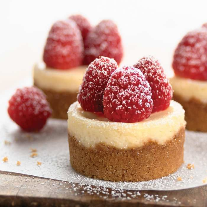Bite Size Cheese Cake: Bite-Size Cheesecake Pan In 2019