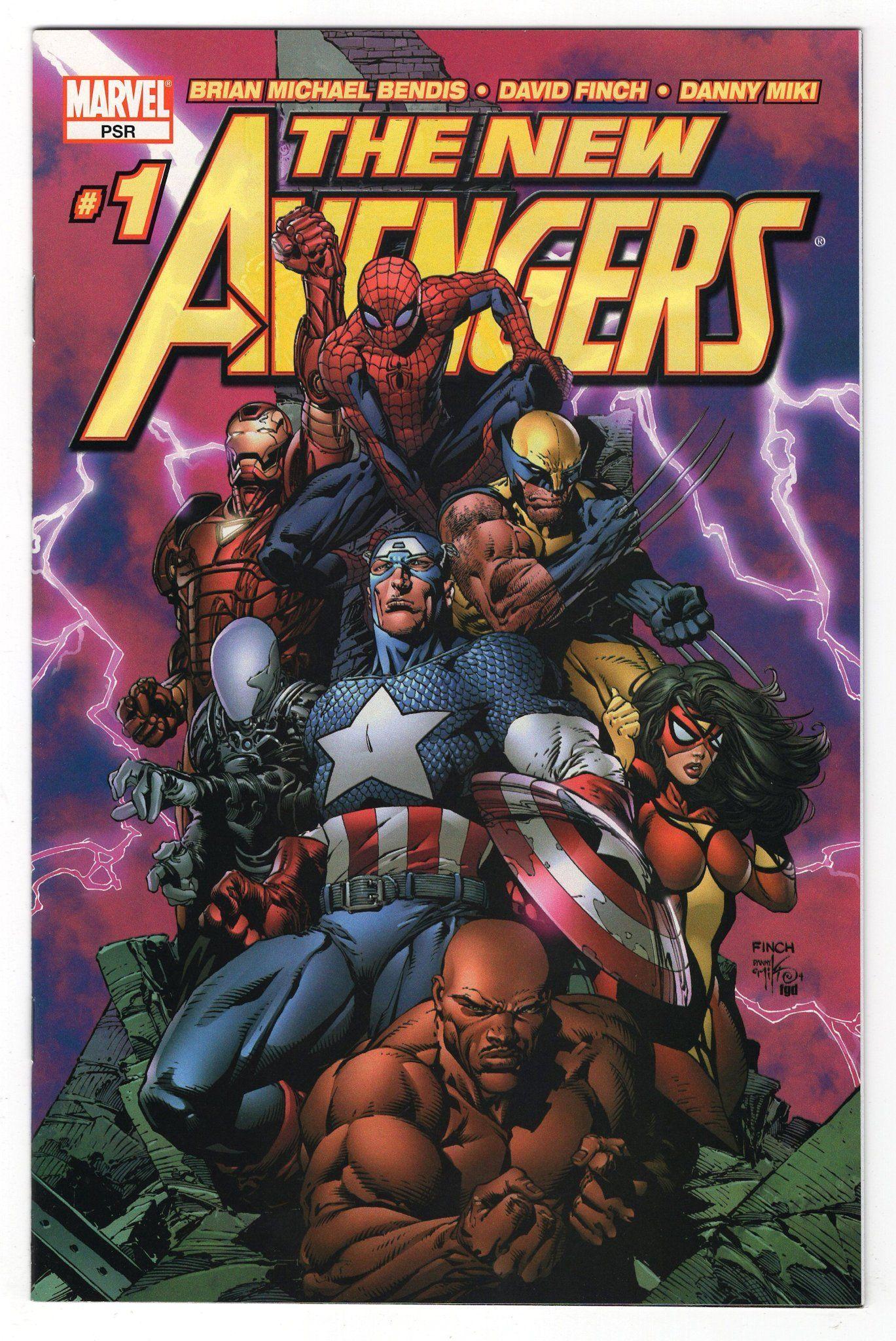 New Avengers 2005 series # 9 very fine comic book