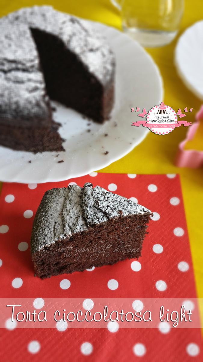 Torta cioccolatosa light – senza latte, senza uova e senza grassi (92 calorie a fetta) | Le Ricette Super Light Di Giovi