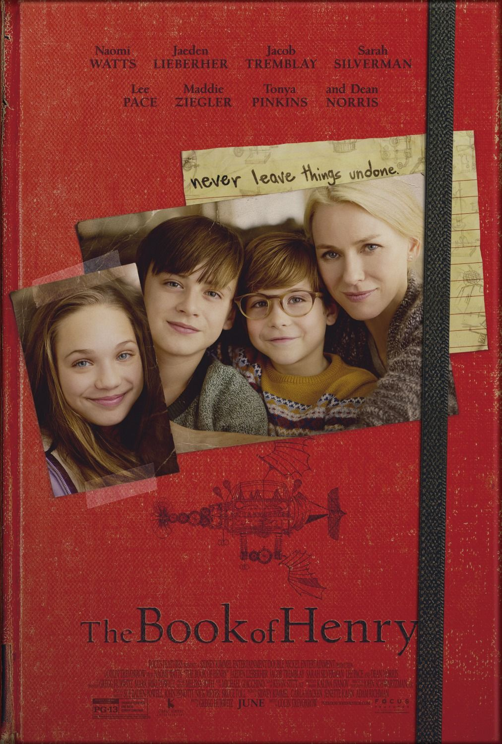 The Book of Henry (2017) directed by: Colin Trevorrow starring ...