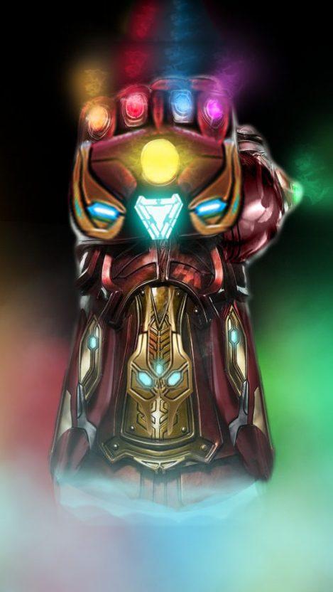 Infinity Stones Iron Man Glove Iphone Wallpaper Free Getintopik Marvel Iphone Wallpaper Marvel Wallpaper Iron Man Avengers