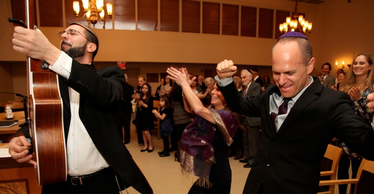 Rocking bar mitzvah service! Your family can have the time of their lives- not just at the party!