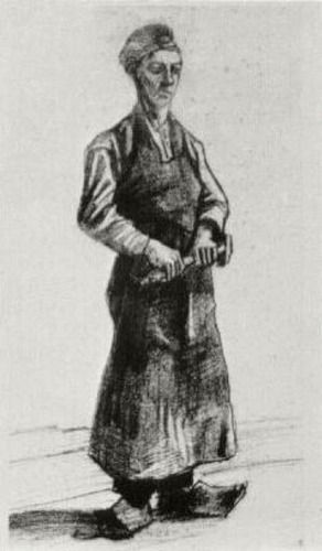 A Carpenter with Apron by Vincent van Gogh