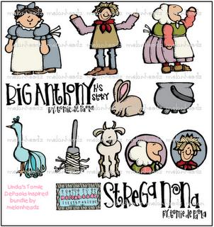 Strega Nona Clip Art! So cute! | Clip Art, Graphics, and ...